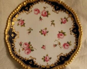 Rare set of 12 antique 19th. Century Copeland China Cabinet Plates