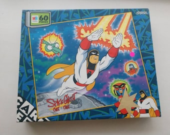 Space Ghost Coast To Coast 60 piece Jigsaw Puzzle Cartoon Network Rare 90s