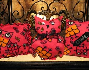 OWL pillows ( 3 ) set