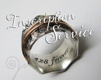 Inscription Service for Inside a Ring