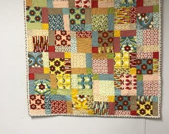 Baby quilt girl