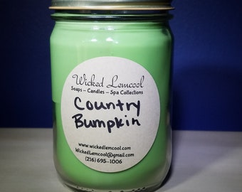 Soy Wax Country Bumpkin Jar Candle