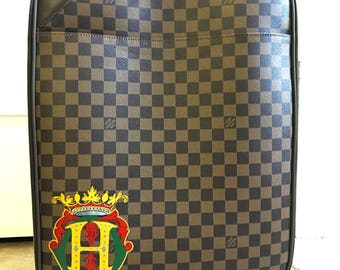 Personalized Monogrammed Louisvuitton Luggage...Customer provided a Luggage!