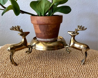 Deer Candle Holder/Plant Stand