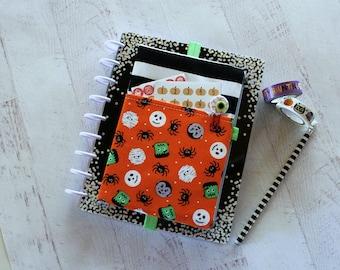 Planner bag - happy planner cover - life planner cover - halloween planner accessories - halloween pencil pouch - halloween planner - pouch