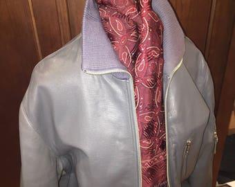 Vintage Bomber leather jacket