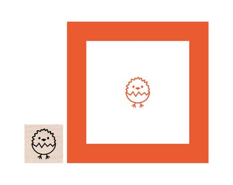 NEW for 2018 Mini Easter Chick Rubber Stamp