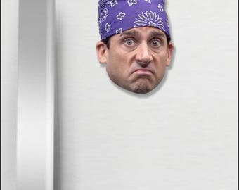 Prison Mike Magnet Michael Scott Magnet The Office TV Show Magnet Dunder Mifflin Paper Company Magnet