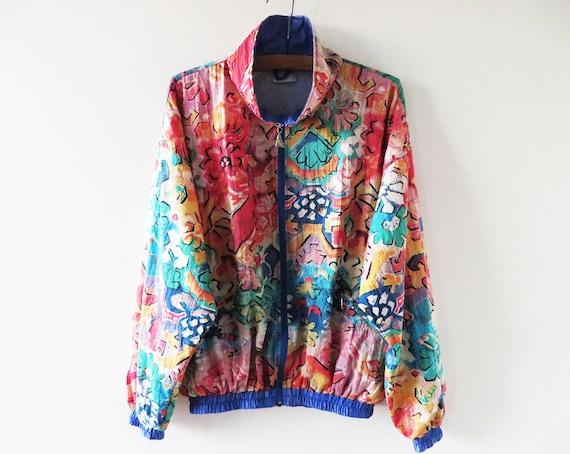80s bomber jacket