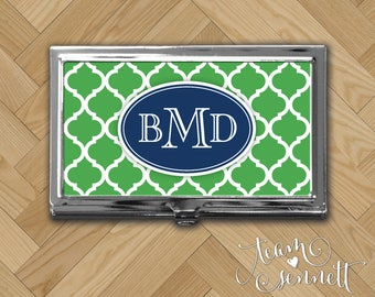 Preppy business card etsy quick view moroccan business card case colourmoves