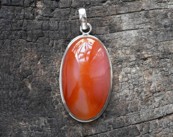 pendant in quartz sterling madeira dp silver with necklace carnelian amazon com