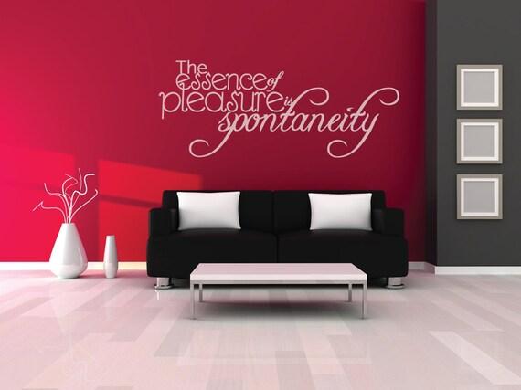 Slaapkamer Muur Quotes : De essentie plezier spontaniteit muur quote lounge quotes