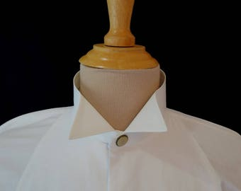 Vintage Collar - Men's Stiff Collar - Wing Tip - Mens Vintage - Gifts For Him