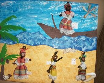 Mini dolls Martinique