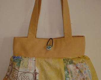 Reversible bag Raissa printed cotton