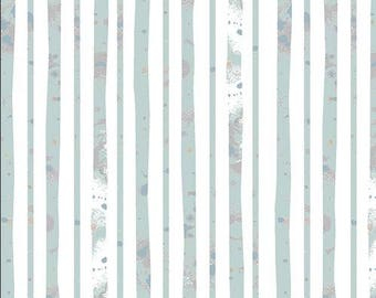 Blithe Collection - Glacier Path Aqua From Art Gallery by Katarina Roccella
