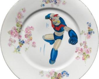 Mazinger Z - Vintage Porcelain Plate - #0591
