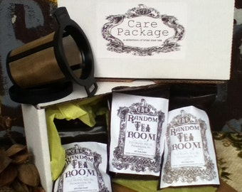 High Tea Trio  Care Package with Brew Basket