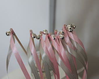 20 sticks for guard of honor wedding bells and Ribbon