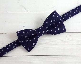 Navy Bow Tie, Bow Tie, Toddler Bow Tie, Boys Bow Tie, Suit Tie, Baby Bow Tie, Wedding Bow Tie, Mens Bow Tie, Bowtie, Ring Bearer Bow Tie