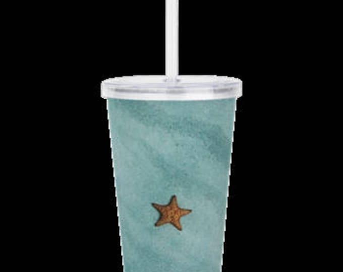 "Double Wall Acrylic Tumbler ""Starfish"""