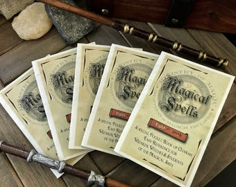 Party Favor Spell Books - Every Witch and Wizard needs a pocket spell book!