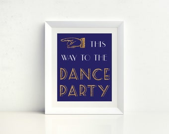 Dance Party - Digital Print - Instant Download