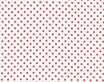 Dots - Deliah - By Tanya Whelan (TW43) - White - One Yard - 7.95 Dollars