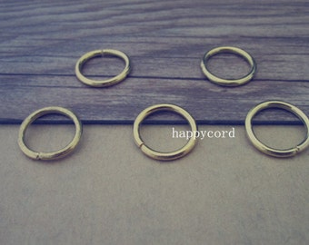100pcs gold color  Jump Rings 1.8mmx16mm