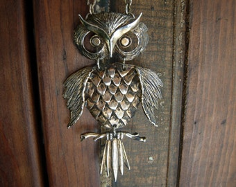 Authentically Vintage Owl Pendant on Chain