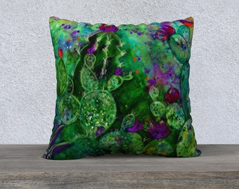 """Cacti Pillowcover ver.1 22"""""""