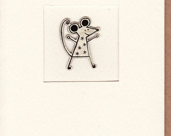 Mouse Greetings Card