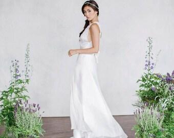 Bridal Skirt, Wedding Skirt, Silk Wedding Skirt, Chiffon skirt, Long Skirt, Wedding Dress, Bridal Separates, Bridal top and skirt, Separates