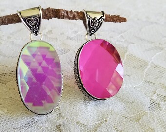 Mystic Topaz Chakra Jewelry- Mystic Topaz Pendants Necklace