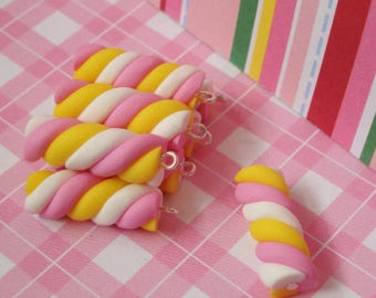 Marshmallow Charms 10pcs