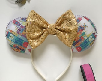 Small World Inspired Mickey ears