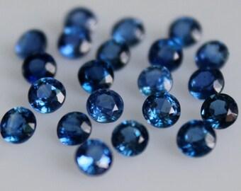 Natural  Kyanite Round Faceted 7 MM Top Quality-Natural Kyanite Gemstones