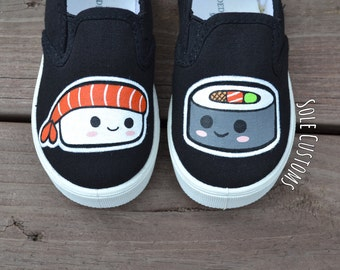 CLEARANCE! Custom Shoes - Toddler/Kids Sushi Shoes
