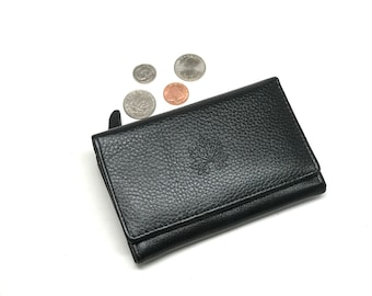 women leather wallet, leather wallet clutch,  women wallet, leather women purse, billfold wallet, wallet with coin pocket