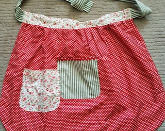 Vintage style hand made apron