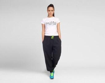 Women Sweat Pants, Women Joggers, Yoga Pants, Plus Size Workout Pants, Gym Pants, Women Activewear, Workout Clothing, Cotton Pants, Casual