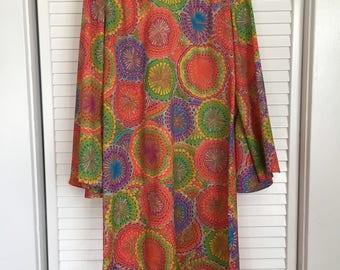 Gorgeous Retro Dress / Vintage Dress / Retro / 60s Dress / Vintage / 1960s