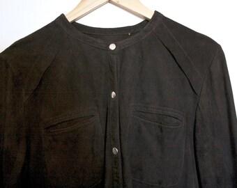 Grey Suede jacket