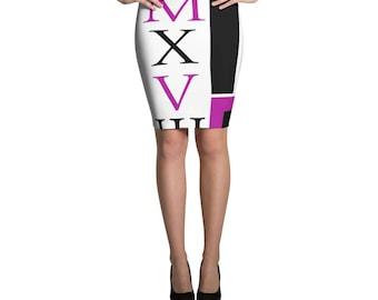 Pencil Skirt p