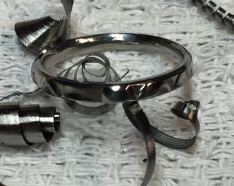 Titanium rings. stackers