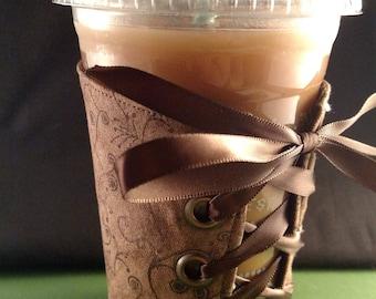 Coffee Corset - Mocha Swirl