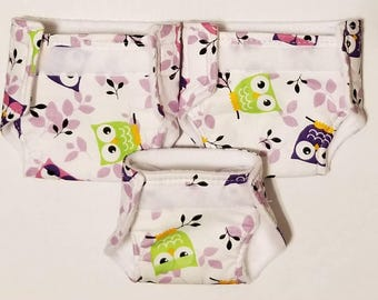 baby doll play set  / doll bibs / doll diapers / doll accessories / toy diaper