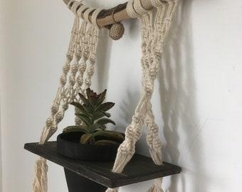 Short & Sweet Macrame Plant Hanger