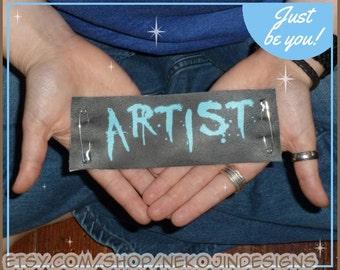 Artist Patch - gift illustrator painter sculptor cartoonist illustration painting comics art student teacher photographer graphic design