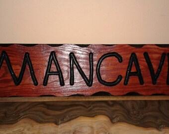 Rustic Man Cave Decor Sign